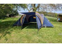 PEAKLAND BAMFORD 6 person tent plus Accessories