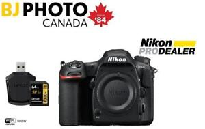 NIKON D500 DX-format Digital SLR Body + BUNDLE (NEW with Nikon Canada Full Warranty)