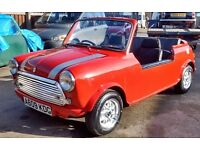 1984 CLASSIC MINI OPEN 4-SEATER NEW MOT CAN DELIVER LHD POSSIBLE