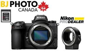 NIKON Z7 MIRRORLESS CAMERA BODY BUNDLE | BJ PHOTO LABS