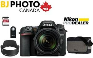 D7500 kit 18-140 VR +BUNDLE SPECIAL (New with Full Nikon Canada Warranty)