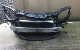 Vauxhall corsa D VXR front panel with radiator pack and intercooler