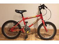 "Boys British Eagle Scorch Bicycle - 16"" Wheels - Delivery Available"