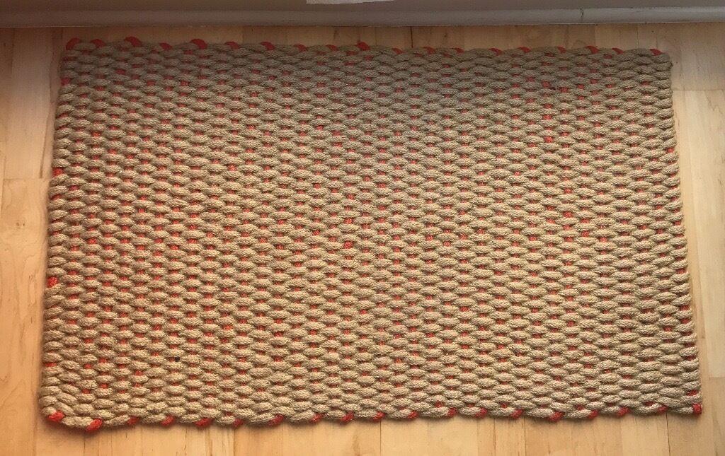 Red Door Mat PORTE From Habitat