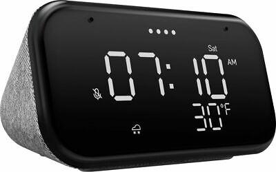 Lenovo ZA740005US Smart Clock Essential - Soft Touch Gray