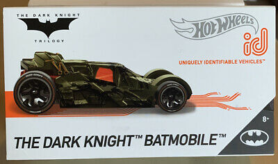 "HOT WHEELS ID-UNIQUELY IDENTIFIABLE VEHICLES - ""The Dark Knight-Batmobile"""