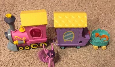 MY LITTLE PONY MLP Friendship is Magic Engine Pink Train Car Hasbro 2015 EUC