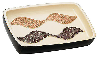 Popular Bath Shimmer Gold Bath Collection – Bathroom Sink Soap Dish Bath