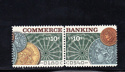 Us Scott  1577 78  Banking   Commerce Stamps  Mnh