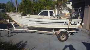 3.7m tinnie with 18hp Tohatsu for sale Bayview Darwin City Preview