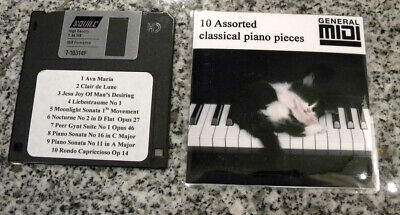 10 Assorted Yamaha Classical music pieces for  PianoSoft  DISKLAVIER & Others for sale  Shipping to Canada