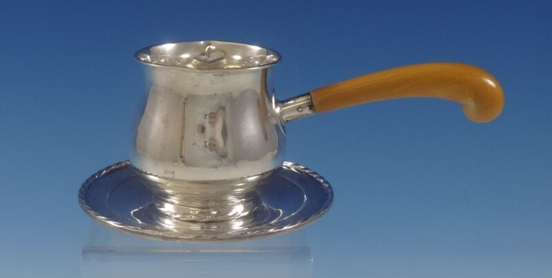 Silver Flutes by Towle Sterling Silver Sauce Boat & Underplate #172 (#0795)