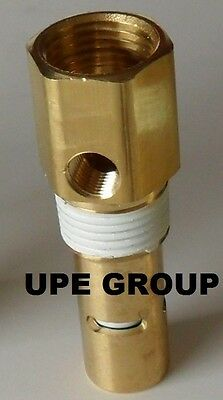 All Brass Air Compressor Check Valve For Rolair Cv4x4ta 12 Fnpt X 12 Mnpt