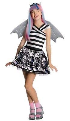 Monster High Rochelle Goyle City Of Frights Mädchen Kostüm mit Perücke Gr. - Rochelle Goyle Kostüm