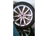 BRAND NEW ALLOYS AND TYRES - Skoda, VW, AUDI, SEAT