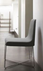 "Chaises Roset ""So"" grises / Grey Roset ""So"" Chairs (x2)"