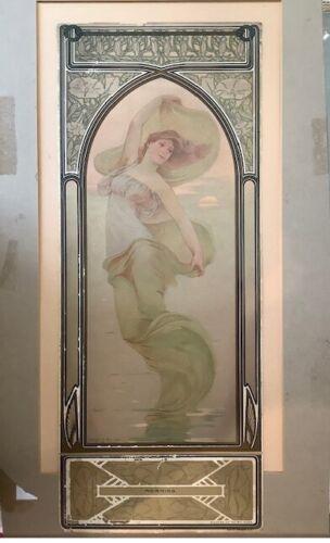 1905 Fairy Soap Calendar Panel - Morning - N K Fairbank Colors Good