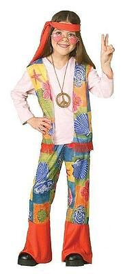 Hipster Costume Girl (Hippie Girl Child Costume Size Small)