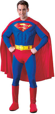 Tolles Superman Kostüm für Erwachsene GR. L  - Superman Kostüm Für Erwachsene