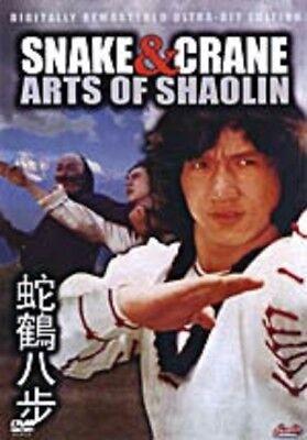 Snake & Crane Arts Of Shaolin - Hong Kong Kung Fu Martial Arts Action movie DVD