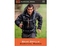 Bear Grylls survival race 5k Edinburgh 2 Tickets for £80