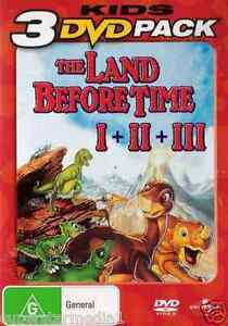 The Land Before Time 1+2+3 : NEW DVD