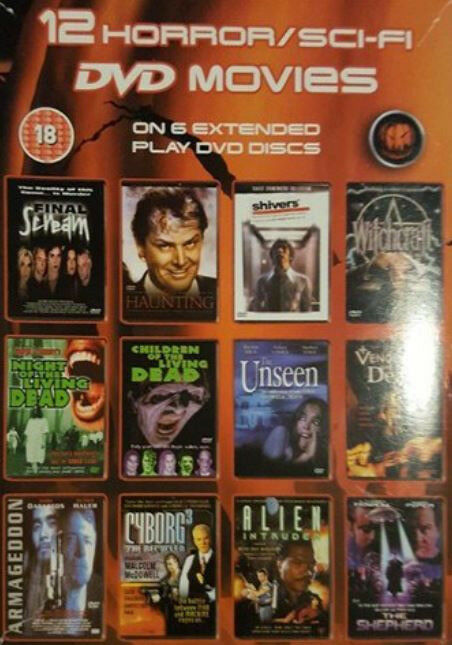 12 Horror/SciFi movies dvd boxset | in Hove, East Sussex | Gumtree