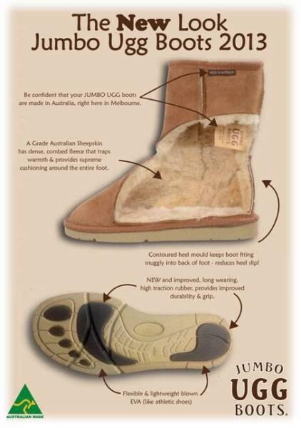 a056992362f GENUINE JUMBO CLASSIC SHORT UGG SHEEPSKIN SNOW BOOTS | Women's Shoes ...