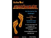 Fundraising Firewalk for Charity