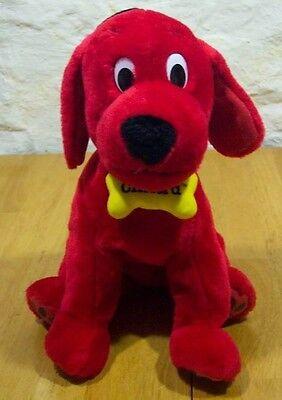 "CLIFFORD THE BIG RED DOG 12"" Plush Stuffed Animal KOHL'S"