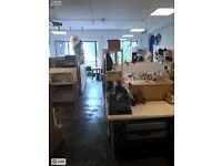 Shared Desk Space Hackney Downs Studios £162.50 PCM