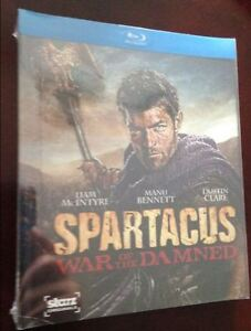 Spartacus War of the Damned Blu-ray $25, OBO