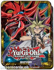 YuGiOh Collector Tin V With 100 Mint YuGiOh Cards+Game Mat + 10 Holo Foil Cards!