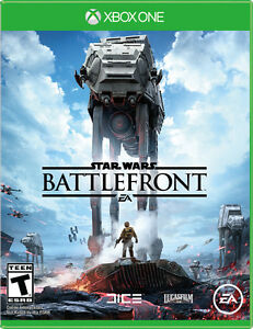STAR WARS BATTLEFRONT FOR XBOX ONE *MINT CONDITION*