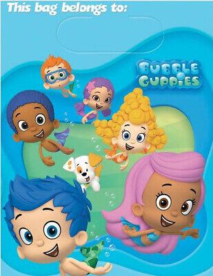 Deema Bubble Guppies (BUBBLE GUPPIES HAPPY BIRTHDAY party treat LOOT BAGS favor goodies Deema Gil)