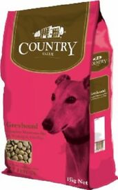 4 x country value greyhound working dog food only £7.50 each