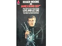 VINTAGE ROGER MOORE JAMES BOND 007 DIARY/1973