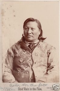 Sioux-Chief-Rain-In-The-Face-Signed-Photograph-American-Indian