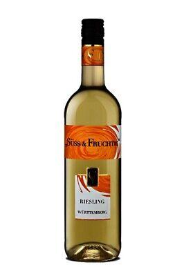 Württemberg Riesling Weißwein Süss und Fruchtig Weißwein 750ml