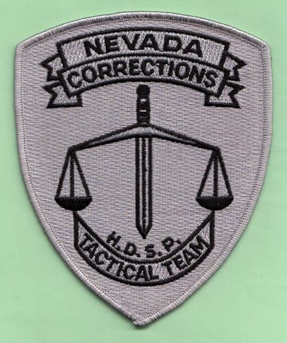 J34 * HIGH DESERT TACTICAL NEVADA CORRECTIONS HRT STATE POLICE SWAT PATCH