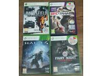 Xbox 360 4 games set