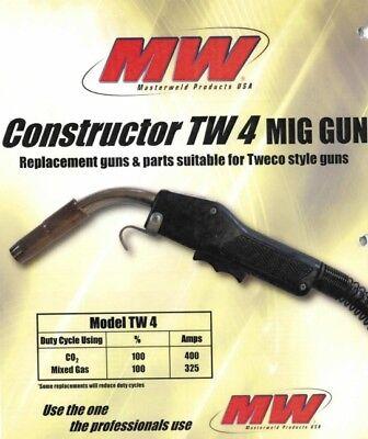 Masterweld 400a Mig Gun 15 Tweco Lincoln Welder Wm Connection - Made In Usa