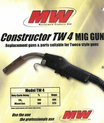 Masterweld 400a Mig Gun 15 Ln7ln9ln25 Lincoln Welder Connection