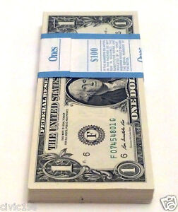 (100) - $1 2009 * ATLANTA *UNCIRCULATED CONSECUTIVE BILLS NOTES GEM $100