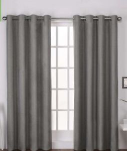 Design Decor blackout thermal lined curtain pair