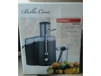 Bella Casa Professional Whole Fruit Power Juicer 990 Watts