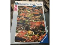 Ravensburger Market Place Istanbul 1000 piece jigsaw puzzle