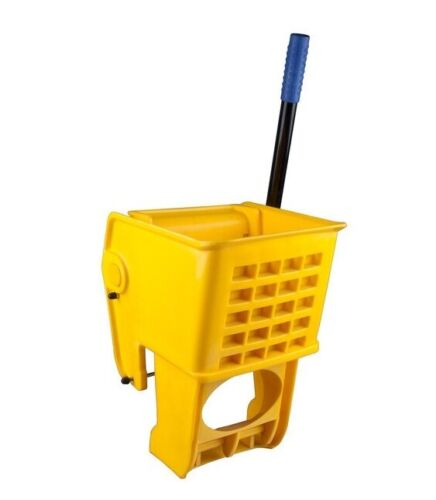 Yellow Replacement Mop Bucket Side Press Wringer for 35 Qt. Janitor Mop Buckets