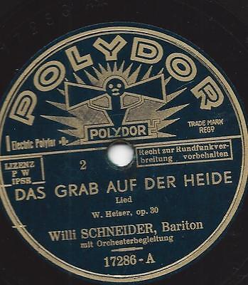 Willy Schneider 1936 :Das Grab auf der Heide - Was stellen sich die Soldaten auf