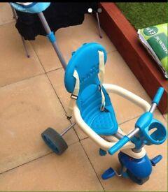 Smart Trike Blue